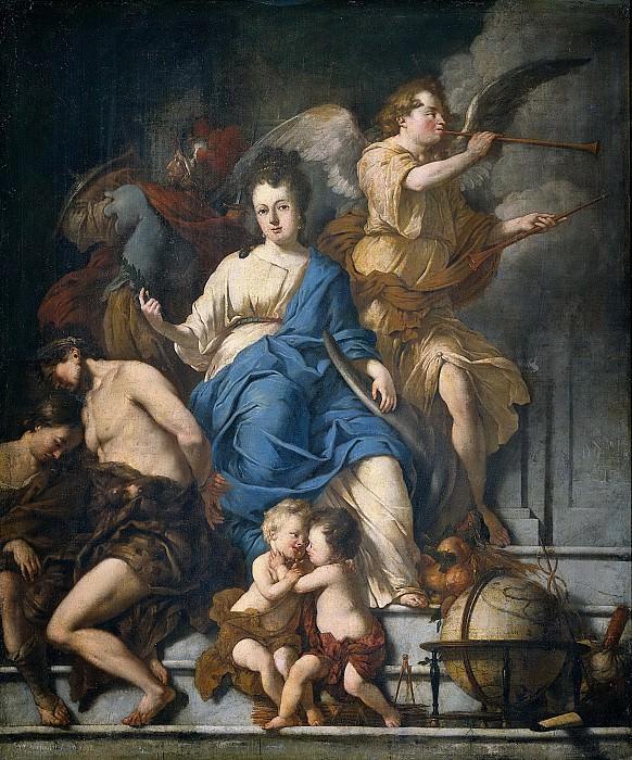 Voorhout, Johannes (I) -- Allegorie op de Vrede van Rijswijk, 1697, 1698. Rijksmuseum: part 3