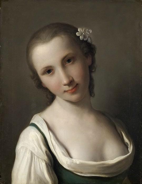 Пьетро Ротари -- Молодая женщина, 1756-1762. Рейксмузеум: часть 3