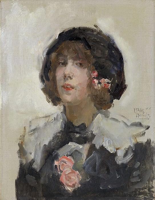 Исаак Исраэлс -- Портрет женщины, 1900-22. Рейксмузеум: часть 3