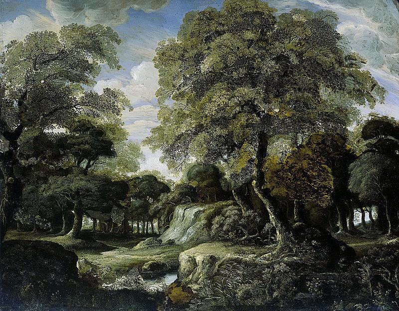 Heyden, Jan van der -- Bosgezicht, 1660-1690. Rijksmuseum: part 3