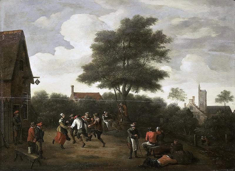 Давид Тенирс (II) -- Танцующие крестьяне, 1620-1700. Рейксмузеум: часть 3