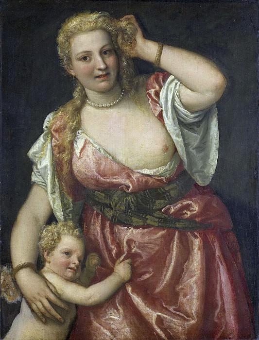 Веронезе, Паоло-- Венера и Амур, 1575-1590. Рейксмузеум: часть 3
