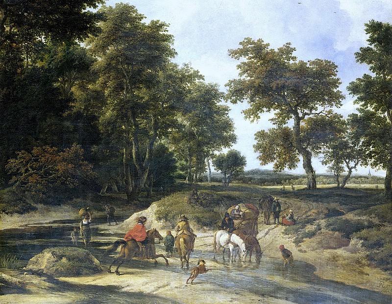 Ruisdael, Jacob Isaacksz. van -- De voorde, 1650-1682. Rijksmuseum: part 3