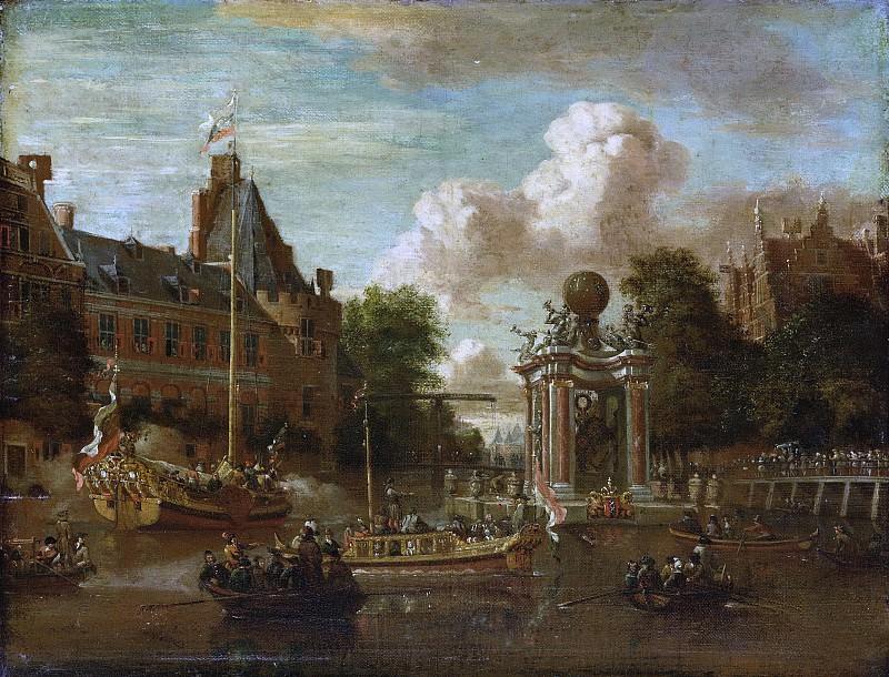 Абрахам Сторк -- Визит московской миссии в Амстердам 29 августа 1697 г., 1697-1708. Рейксмузеум: часть 3
