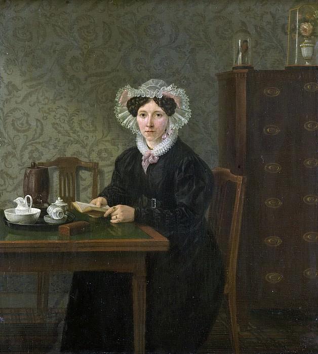 Uppink, Willem -- Portret van een vrouw, 1833. Rijksmuseum: part 3