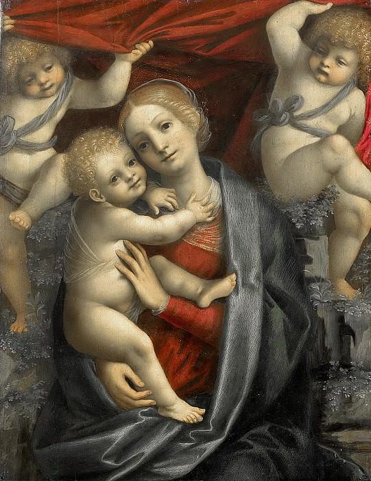 Ferrari, Gaudenzio -- Maria met kind, 1525-1535. Rijksmuseum: part 3
