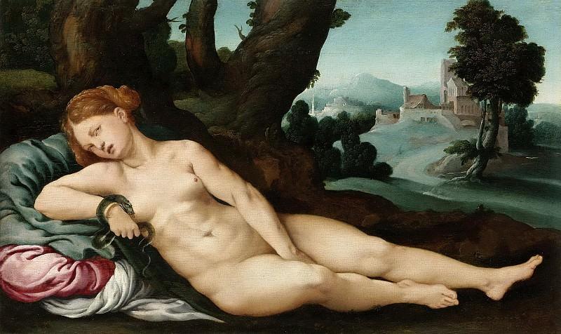Scorel, Jan van -- De stervende Cleopatra, 1520-1524. Rijksmuseum: part 3