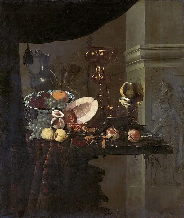Dielaert, Christiaen van -- Stilleven, 1666. Rijksmuseum: part 3