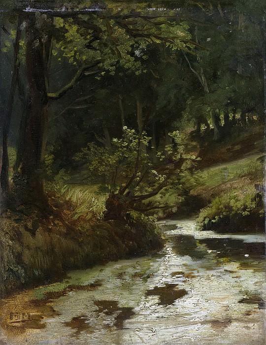 Maris, Matthijs -- Beek in het bos bij Oosterbeek, 1860. Rijksmuseum: part 3