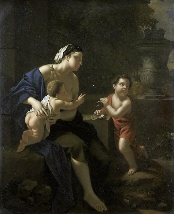 Питер ван дер Верф -- Пускание мыльных пузырей, 1700-1722. Рейксмузеум: часть 3
