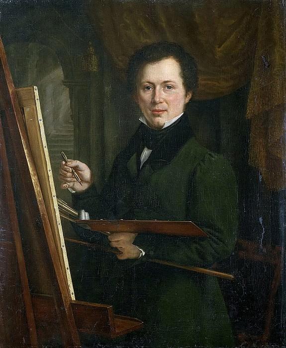Неизвестный художник -- Портрет художника, 1830. Рейксмузеум: часть 3