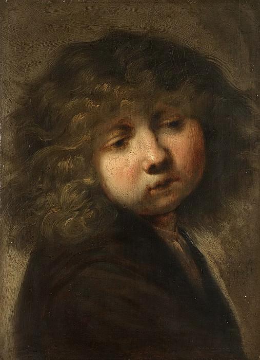 Rembrandt Harmensz. van Rijn -- Jongenskopje, 1643. Rijksmuseum: part 3