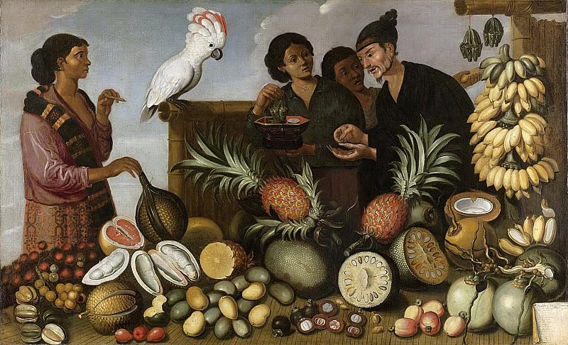 Eckhout, Albert -- Oost-Indisch marktstalletje, 1640-1666. Rijksmuseum: part 3