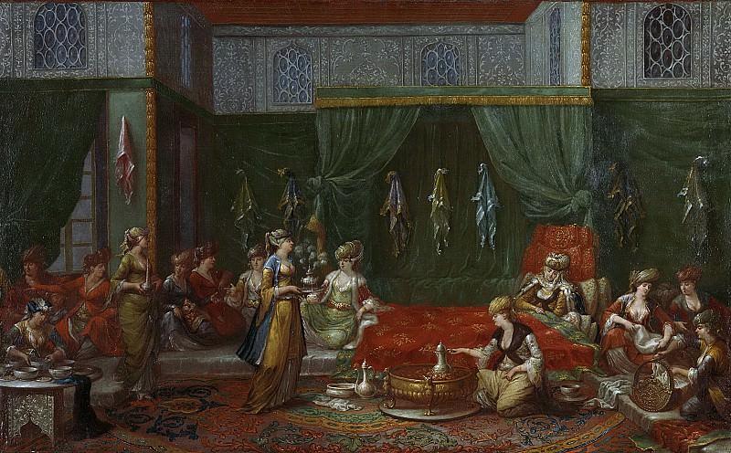 Жан Батист Ванмур -- Палата -Турецкая женщина-, 1727-1737. Рейксмузеум: часть 3