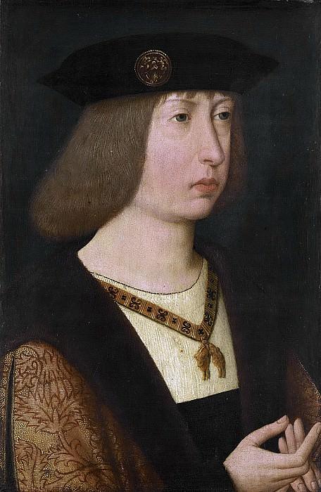 Неизвестный художник -- Филипс де Схоне (1478-1506), эрцгерцог Австрийский, герцог Бургундский, 1500. Рейксмузеум: часть 3