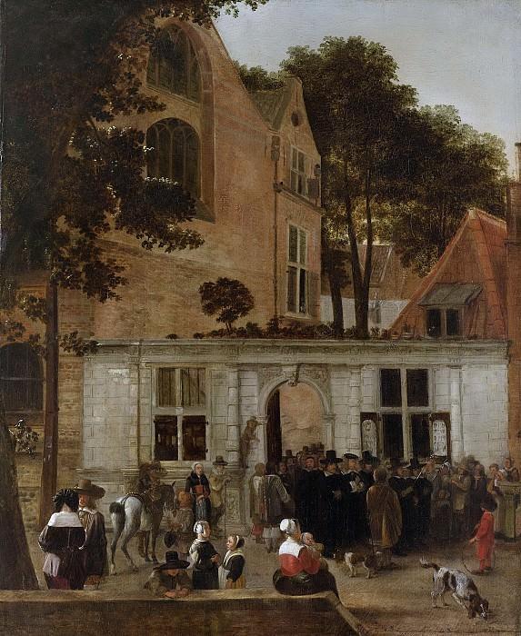 Burgh, Hendrick van der -- Een promotie aan de Leidse Universiteit omstreeks 1650, 1650-1660. Rijksmuseum: part 3