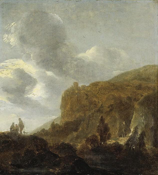 Dubois, Guillaume -- Berglandschap, 1630-1660. Rijksmuseum: part 3