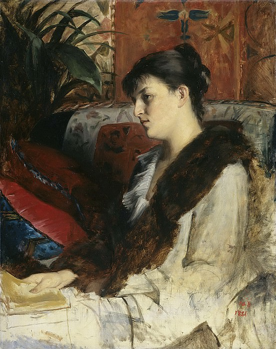 Bashkirtseff, Marie Constantine -- De schoonzuster van de schilderes., 1881. Rijksmuseum: part 3