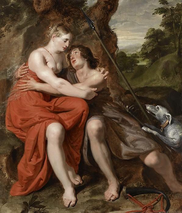 Pape, Josse de -- Venus en Adonis, 1629. Rijksmuseum: part 3