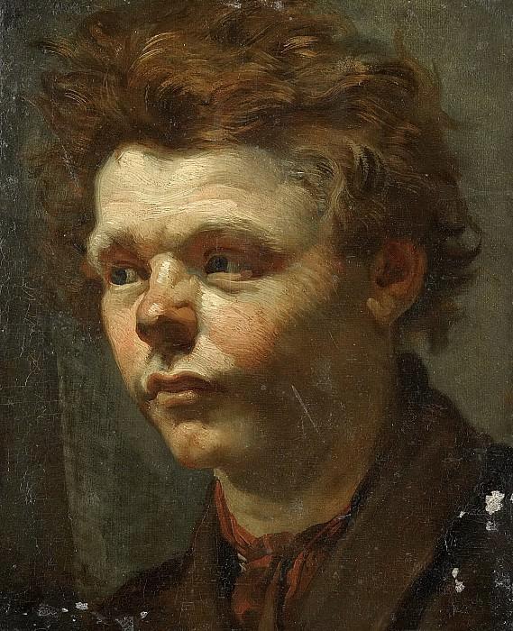Маттхейс Марис -- Этюд к портрету, 1856. Рейксмузеум: часть 3