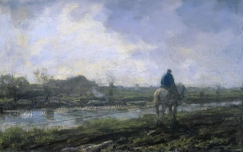 Якоб Марис -- Путь, 1894. Рейксмузеум: часть 3