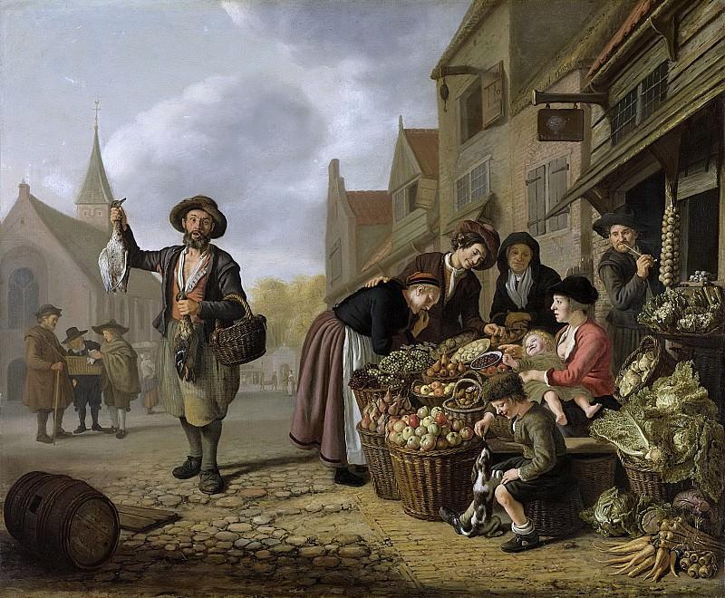 Victors, Jan -- De groentewinkel 'De Buyskool, 1654. Rijksmuseum: part 3
