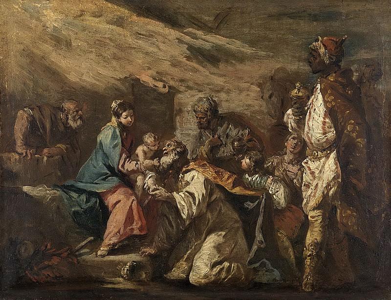 Diziani, Gasparo -- De aanbidding der koningen, 1705-1760. Rijksmuseum: part 3