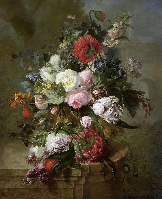 Uppink, Harmanus -- Stilleven met bloemen, 1789. Rijksmuseum: part 3