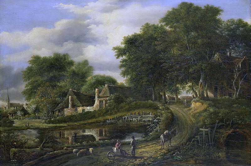 Ducorron, Julien Joseph -- Landschap, 1800-1837. Rijksmuseum: part 3