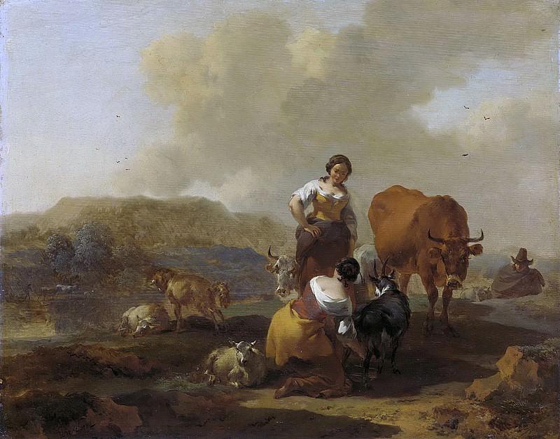 Николас Питерс Берхем -- Итальянский пейзаж, 1655-1683. Рейксмузеум: часть 3