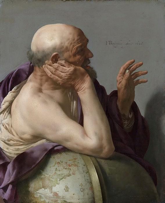 Тербрюгген, Хендрик -- Гераклит, 1628. Рейксмузеум: часть 3
