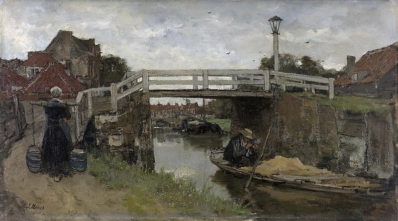 Maris, Jacob -- De brug, 1879. Rijksmuseum: part 3