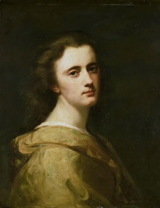 Йоханн Георг Схвартсе -- Тереза Схвартсе (1851-1918), дочь художника в 16-летнем возрасте, 1868. Рейксмузеум: часть 3