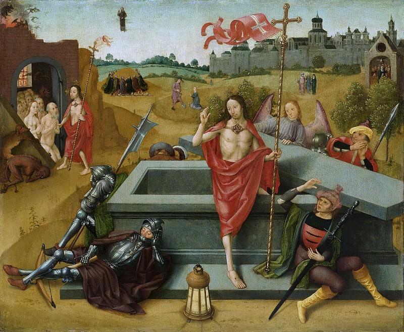 Амстердамский мастер картины «Успение Марии» -- Воскресение Христа, 1485-1500. Рейксмузеум: часть 3