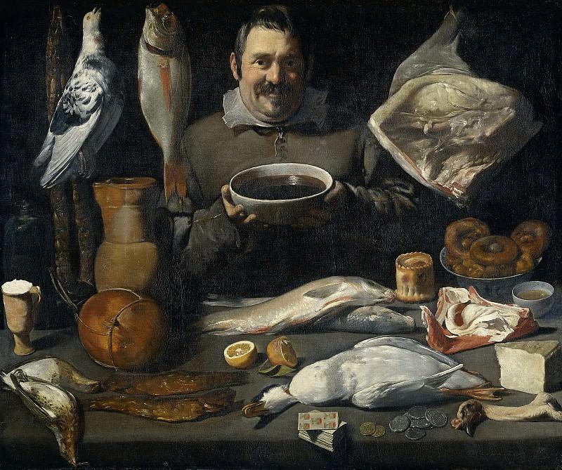 Meester van de Amsterdamse Bodegone -- Keukenstuk (bodegone), 1610-1625. Rijksmuseum: part 3