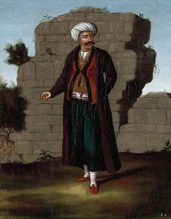 Жан Батист Ванмур -- Мужчина с острова Миконос, 1700-1737. Рейксмузеум: часть 3