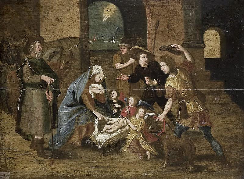 Vos, Maerten de -- De aanbidding der herders, 1580-1699. Rijksmuseum: part 3