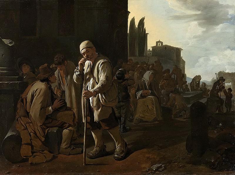 Sweerts, Michael -- De hongerigen spijzen, 1646-1652. Rijksmuseum: part 3