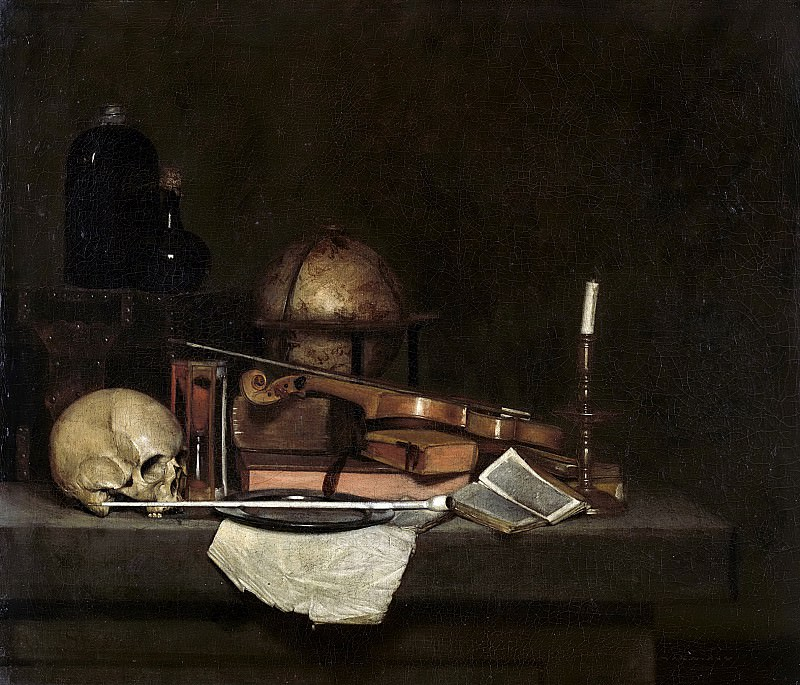 Stevers -- Vanitas stilleven, 1630-1660. Rijksmuseum: part 3