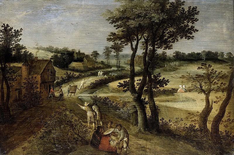 Savery, Jacob (II) -- Landschap met korenvelden, 1602-1630. Rijksmuseum: part 3