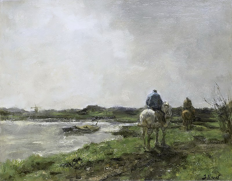 Maris, Jacob -- Jaagpad, 1896. Rijksmuseum: part 3