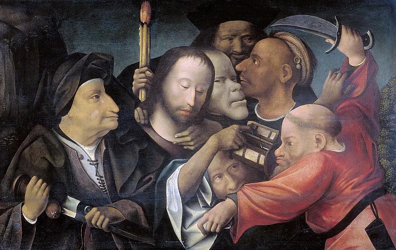 Bosch, Jheronimus -- De gevangenneming van Christus., 1530-1550. Rijksmuseum: part 3