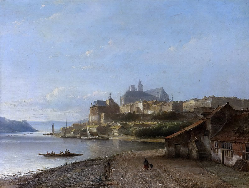 Karsen, Kasparus -- Rijn-fantasie, 1840-1870. Rijksmuseum: part 3