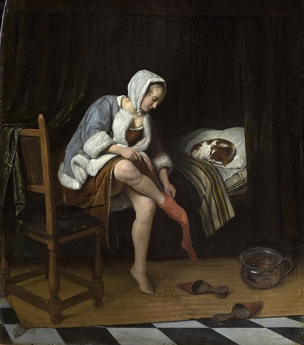 The Morning Toilet. Jan Havicksz Steen
