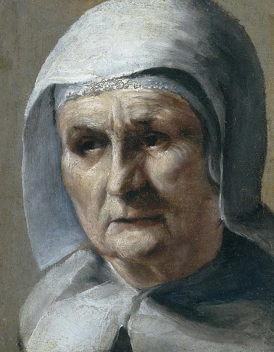Мозес Терборх -- Старая женщина, 1655-1667. Рейксмузеум: часть 3