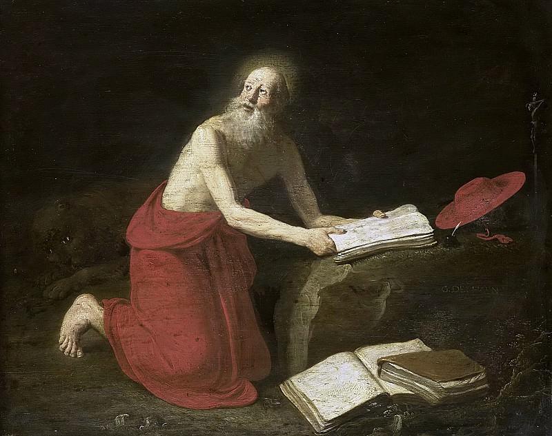Haen, Gerrit de -- De heilige Hieronymus, 1667-1682. Rijksmuseum: part 3