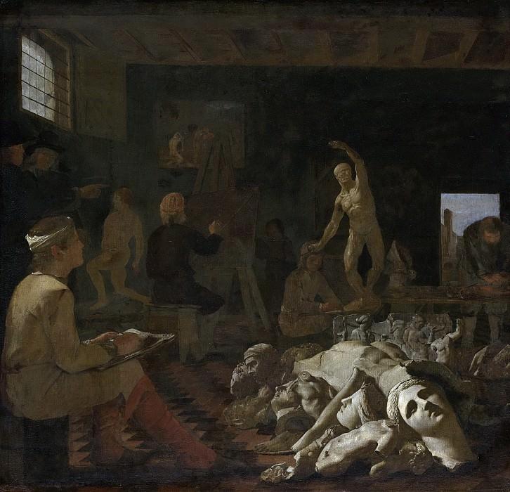 Sweerts, Michael -- Een schildersatelier, 1646-1652. Rijksmuseum: part 3
