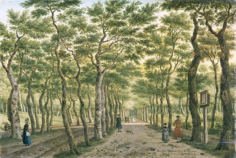 Fargue, Paulus Constantijn la -- Het Herepad in het Haagse Bos, 1778. Rijksmuseum: part 3