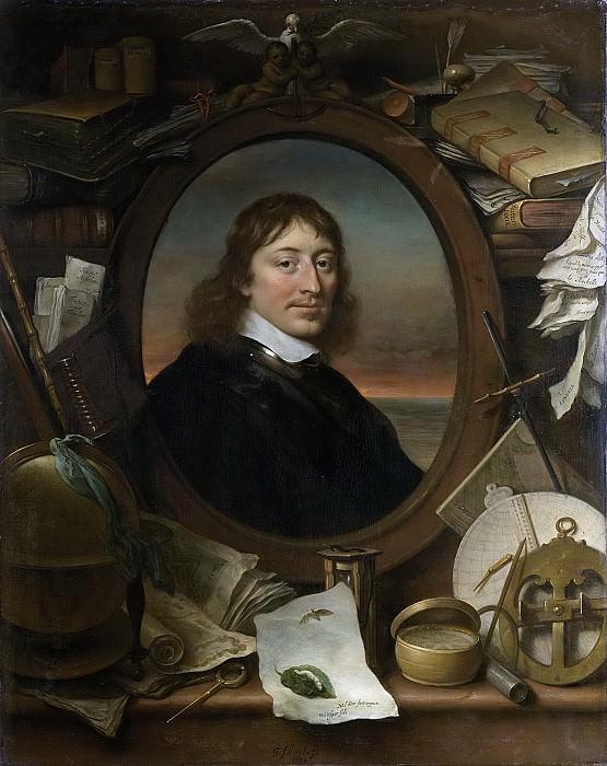 Flinck, Govert -- Gerard Pietersz Hulft (1621-56). Eerste raad en directeur-generaal van de VOC, 1654. Rijksmuseum: part 3
