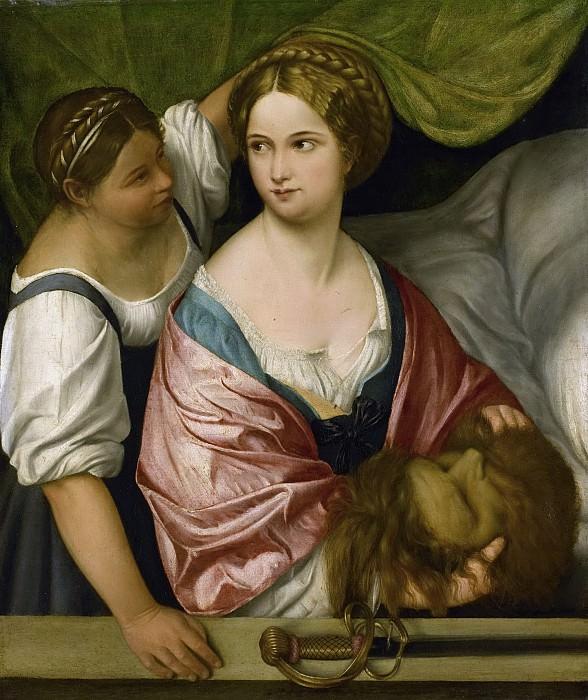 Pordenone -- Judith met het hoofd van Holofernes, 1500-1539. Rijksmuseum: part 3